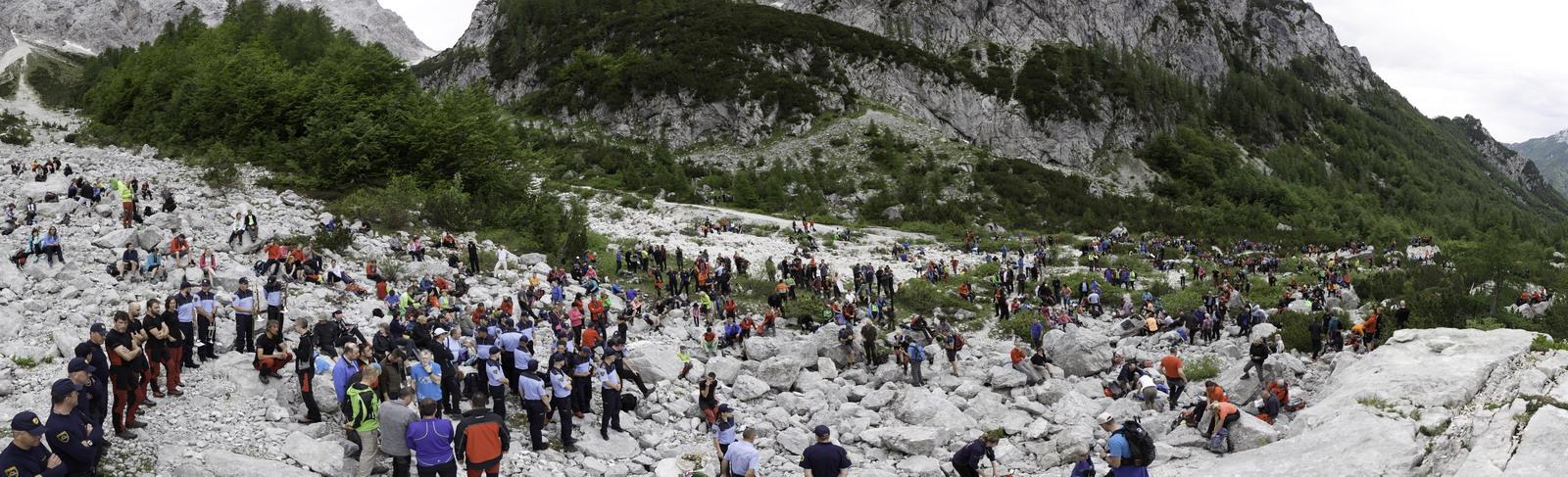 Proslava ob 20 obletnici nesreče na Okrešlju